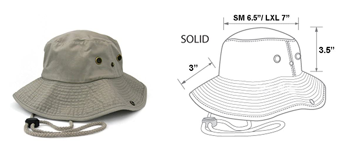 43fffe42e3e MIRMARU Summer Outdoor Boonie Hunting Fishing Safari Bucket Sun Hat  Adjustable Strap at Amazon Men s Clothing store