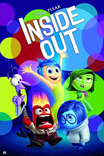 Inside Out - Disney / Pixar Movie Poster / Print Regular Style By Stop