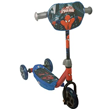 Rocco Juguetes - The Amazing Spiderman Scooter 3 Ruedas ...