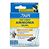 API AMMONIA TEST STRIPS Freshwater and Saltwater Aquarium Water Test Strips 25-Test Box
