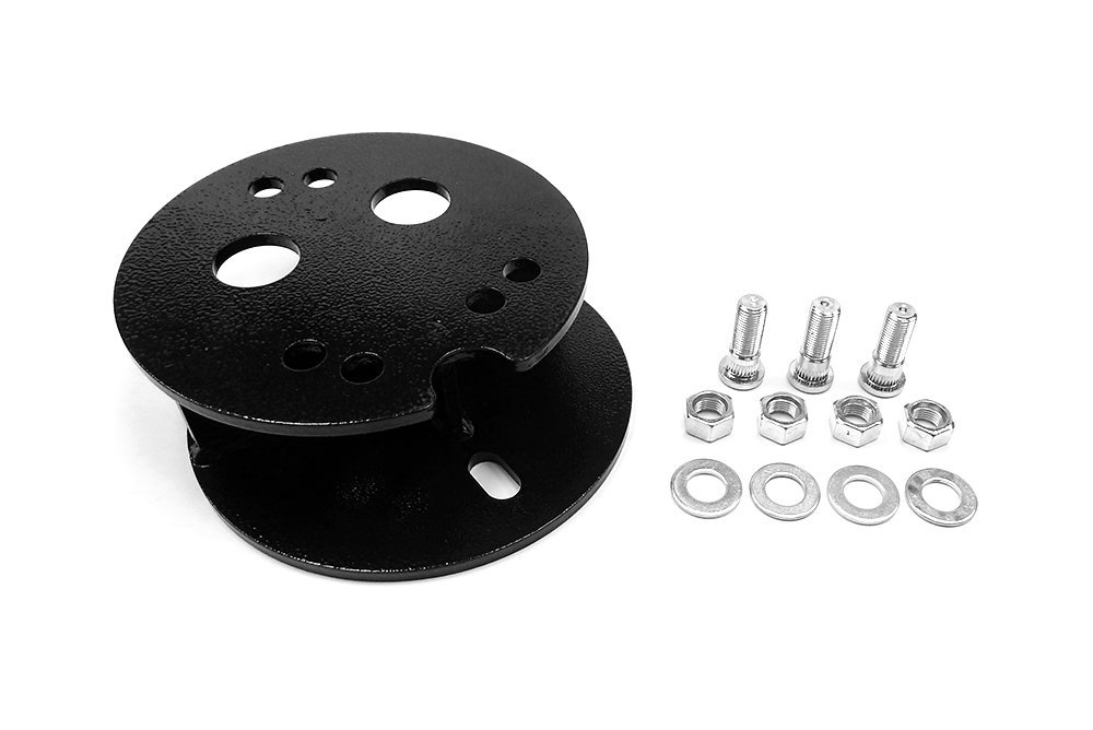 5.5-Inch and 5 X 4.5-Inch Bolt Patterns Spare Tire Carrier Adapter//Spacer Southern Truck 95006 Fits Jeep Wrangler JK//TJ//YJ