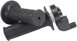 USPEEDA Throttle Housing Handle Bar Grip Casing Set for Kawasaki KD100 KD125 KD175 KDX200 KDX50 KE100 KE125 KH100 KH125 KLX110 KLX110L