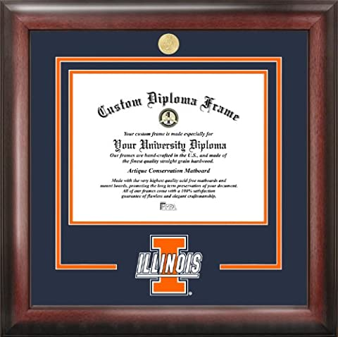 University of Illinois, Urbana-Champaign Spirit Diploma Frame - University Spirit Diploma Frame