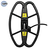 CORS Scout 12.5'x8.5' DD Search Coil for Teknetics Brand Metal Detector w/ Cover