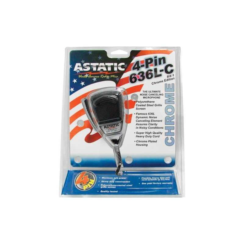 ASTATIC 302-10187 4-Pin Noise-Cancelling