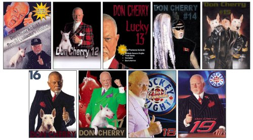 Don Cherry Hockey Night in Canada - Volumes 10 to 19 (9 Pack) (Cbc Hockey Night In Canada Coaches Corner)