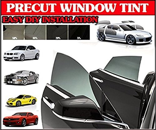 Visor Window Film - TRUE LINE Automotive Computer Customized Pre-cut Window Tint Kit For (Full Kit (All Side and Back Windows))