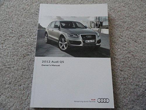2012 Audi Q5 Owners Manual