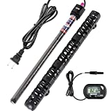 300w 150w 50w Submersible Aquarium Heater Auto Thermostat Heater with Suction,LED Small Mini