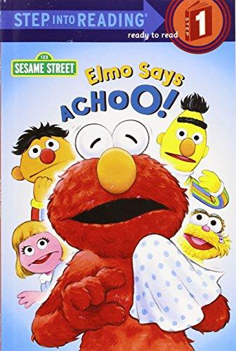 Elmo Says Achoo! (Step-Into-Reading, Step 1)