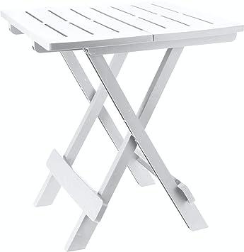 Kunststoff Beistelltisch Kleiner Klapptisch Gartentisch Tisch