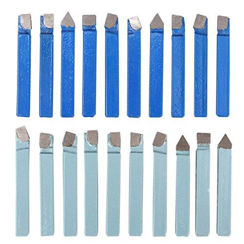 Turning Tool 20pcs 1/4 Inch Carbide Tip Lathe Metal Cutter Bit Cutting Turning Tool Set -  Ologymart, Ology1778254465