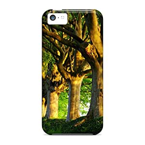 (DIg22343ThRF)durable Protection Cases Covers For Iphone 5c(summer Trees)