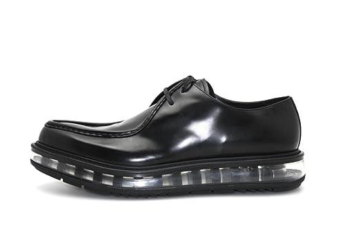 Prada - Mocasines de Piel para hombre Negro negro: Amazon.es: Zapatos y complementos