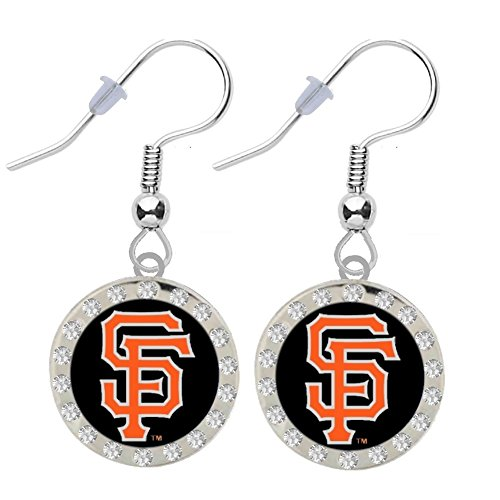 San Francisco Giants Crystal Earrings -