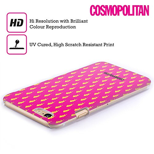 Official Cosmopolitan Hot Pink Fun Fearless Female Hard Back Case for Apple iPhone 4 / 4S