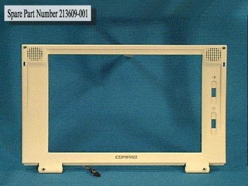 Compaq - COMPAQ 213609-001 11.3 DISPLAY BEZEL - 213609-001