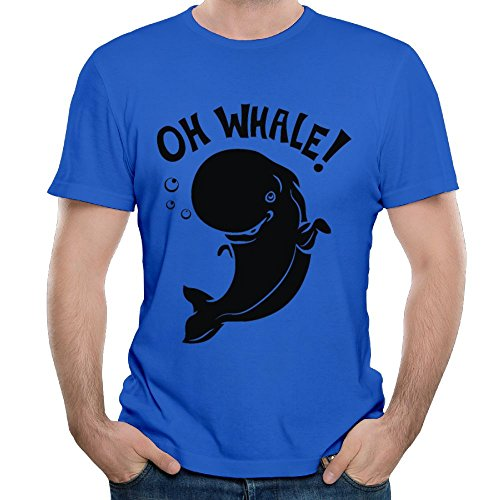 (Arsmt Oh Whale Men's Office Crew Neck Classic Tee)