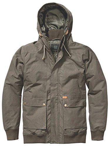 M Olive Uomo Inkerman Giubbotto Jacket Globe Dark w0nRqxYn1