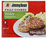 Jimmy Dean Fully Cooked Turkey Sausage Patties, 8 Count