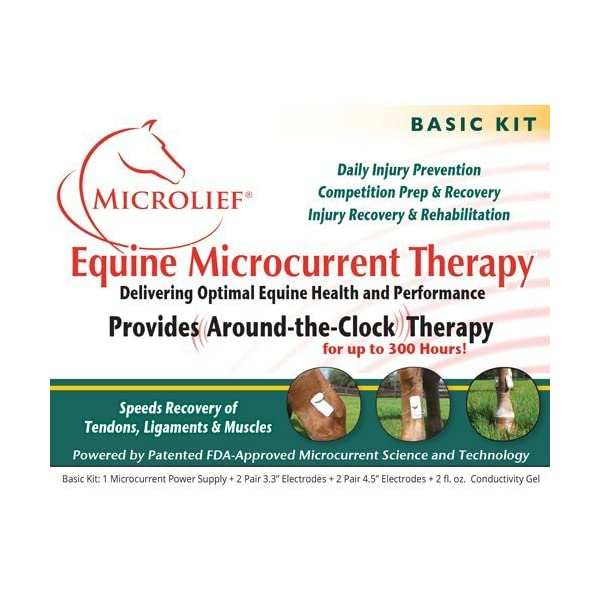 Microlief Under Wraps - Natural Pain Relief Therapy Patch for Equine Injury Prevention, Treatment, Recovery and Rehabilitation 2