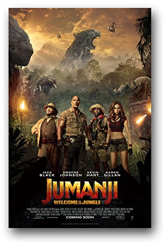 Jumanji Poster - Movie Promo 11x17 Welcome to the Jungle