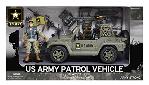 United States Army Patrol Playset