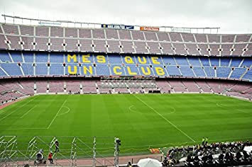 Amazon Com Home Comforts Laminated Poster Stadion Camp Nou