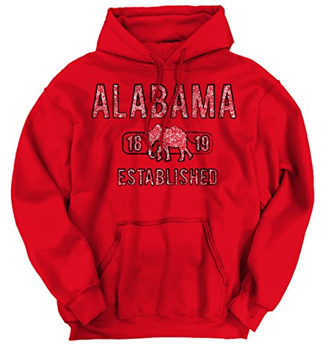 Nice Alabama State Pride T Shirt State Flag USA Elephant Gift Hoodie for sale