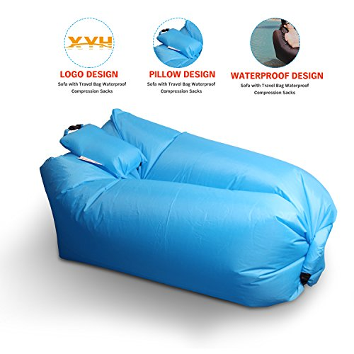 Inflatable Lounger Portable Waterproof Camping