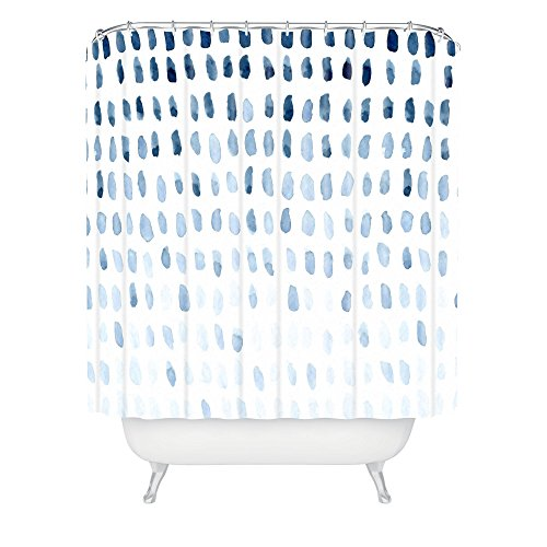 Deny Designs Social Proper Proof of Life Shower Curtain, 69' x  72'