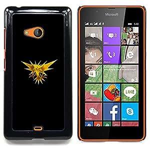 - Zapos P0Kemon - - Cubierta del caso de impacto con el patr??n Art Designs FOR Microsoft Nokia Lumia 540 N540 Queen Pattern