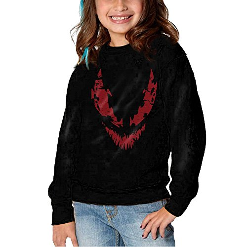 Pyer Inting Carnage Comic Hoodies For Girls Kids