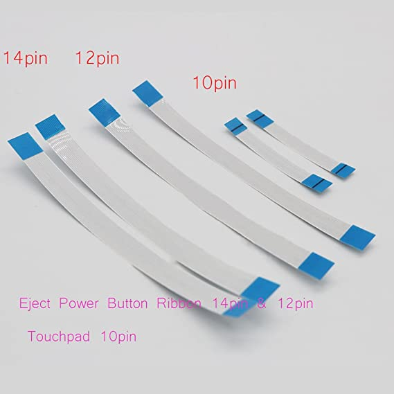 Romirofs 14 PIN Power Button Flachbandkabel Ribbon Flex Connector Cable for Sony Playstation PS4 Dualshock Controller