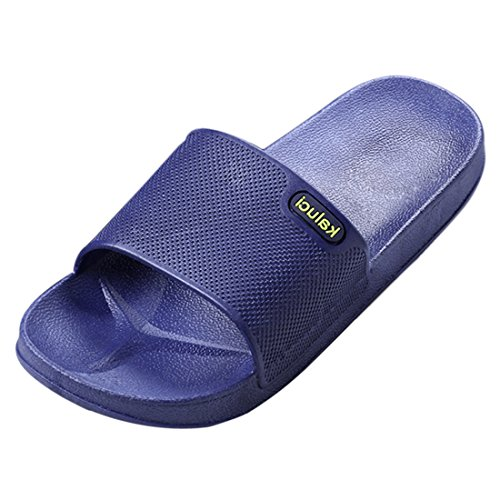 Bathroom 2 Mens Shoes Sandal Outdoor Slip Blue Home Non Slippers Jiyaru Indoor Summer 7nRUwqXY