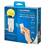 Caseta Wireless 300-Watt/100-Watt Plug-In Lamp Dimmer with Pico Remote Control Kit - White by Lutron