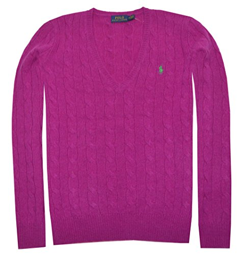mens Merino Wool Sweater (Large, Logan Berry) ()