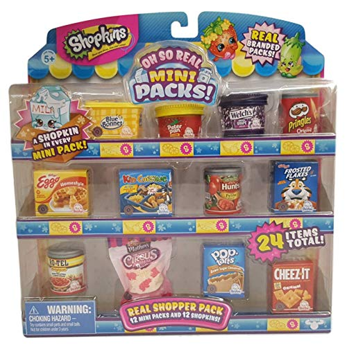 (Shopkins Oh So Real - National Brands Real Shopper Pack (Style #2) )