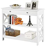 Best entry table with shelf drawers Reviews