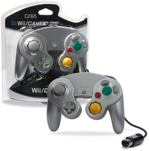 CirKa Wired Controller for GameCube/ Wii (Silver) Review