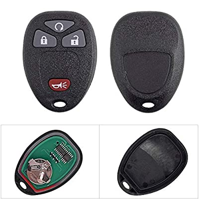 BESTHA New Car Key Fob Replacement Keyless Entry Remote Control OUC60270 OUC60221 15913421 for Chevrolet Buick Cadillac GMC Pontiac Saturn Suzuki XL-7: Automotive