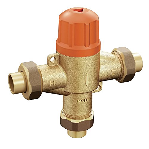 Moen 104465 Adjustable Temperature Thermostatic Mixing Valve by Moen