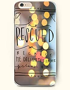 For Ipod Touch 5 Case For Ipod Touch 5 Case Cover Hard Case **NEW** Case with the of rescued because he delighted in me pslams 18:19 - Case for For Ipod Touch 5 Case Cover (2015 ) Verizon, AT&T Sprint, T-mobile