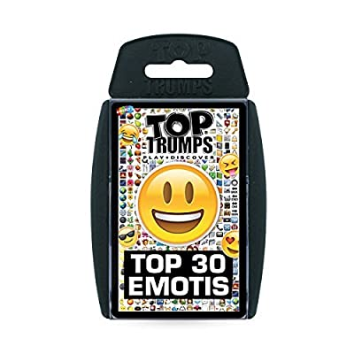 Emotis Top Trumps Card Game: Toys & Games