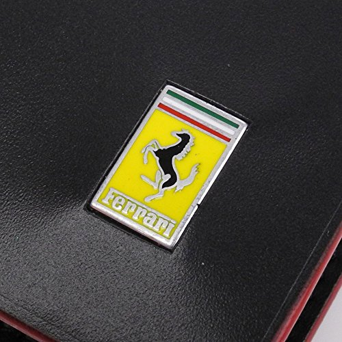 Aas ¢ Billetera Cavallino Rampante Bolsillo Ferrari Del Menã Negro Bpvwqw5