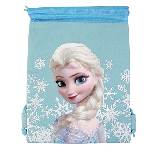 Disney Frozen Drawstring Backpack - Snow Blue