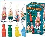 Usavich mascot cleaner USAVICH character goods Candy Kabaya (all four Furukonpu Set) (Candy Toys & gum)