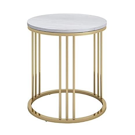 Amazon.com: Axdwfd - Mesa de café con mármol nórdico y ...