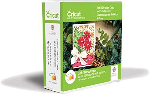 Provo Craft Anna's Christmas Cards & Embellishments Cricut Shape Cartridge, Multicolor