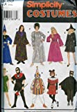 Simplicity Costumes Pattern 8285 ~ Boys/Girls Mix & Match ~ Size A (Small/Med/Large)